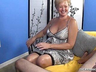big cock-cock-dick-jerking-mature-older woman