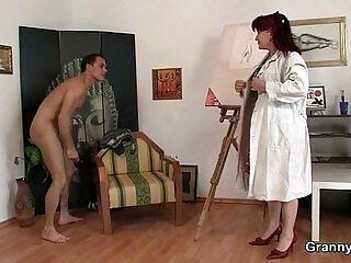 cock-grandma-lady-mature-older woman