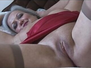 bald pussy-granny-pussy-shaved-stockings-striptease