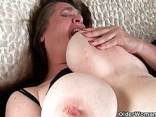 big tits-grandma-horny-tits