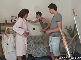 cum swallow-dick-granny-naughty-old and young-sperm