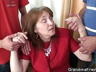 bitch-cock-office-old and young