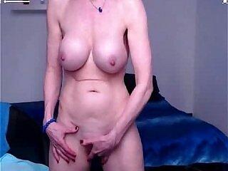 fingering-granny-nipples