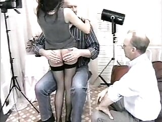 old and young-spanking