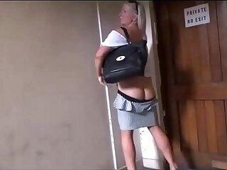flashing-masturbation-mature-older woman-outdoor-painful sex