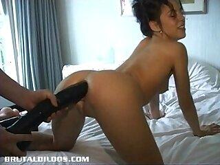 ass-dildo-insertion-petite-tight
