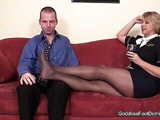 black-domination-foot-footjob-pantyhose